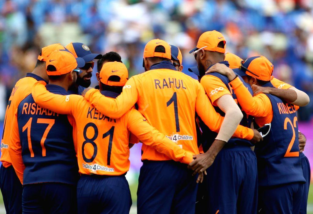 Indian cricket team. (Photo: Surjeet Yadav/IANS) - Surjeet Yadav