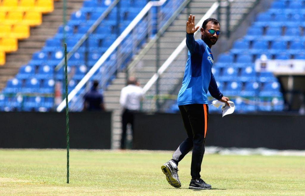 Indian cricket team's fielding coach Ramakrishnan Sridhar. (Photo: Surjeet Yadav/IANS) - Surjeet Yadav