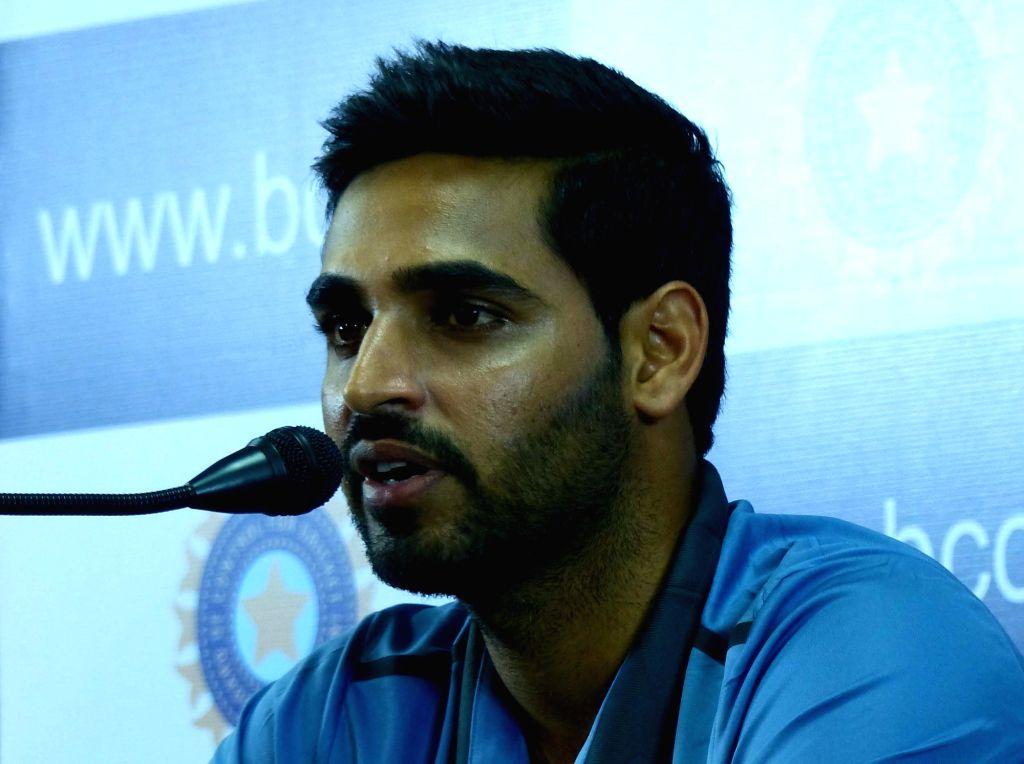 Indian cricketer Bhuvaneshwar Kumar. - Bhuvaneshwar Kumar
