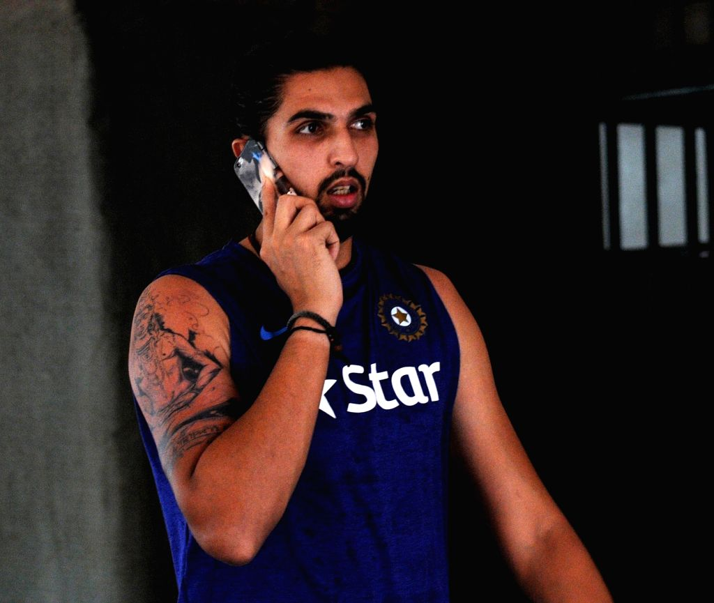 Indian cricketer Ishant Sharma during the team preparatory camp before its tour to West Indies at Chinnaswamy Stadium, in Bengaluru on June 29, 2016. - Ishant Sharma