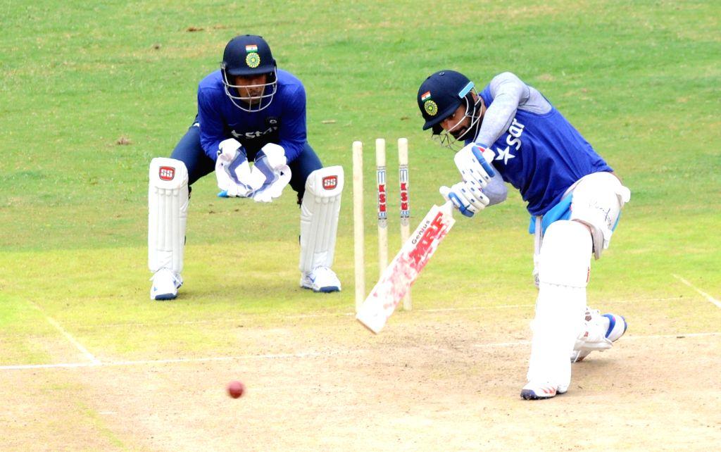 Indian cricketer Virat Kohli during a preparatory camp ahead of  West Indies tour at National Cricket Academy at Chinnaswamy Stadium, in Bengaluru on July 1, 2016. - Virat Kohli
