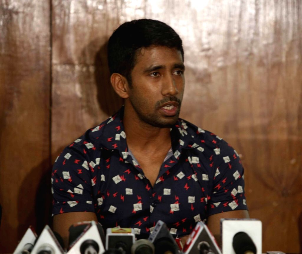 Indian cricketer Wriddhiman Saha. (Photo: IANS)