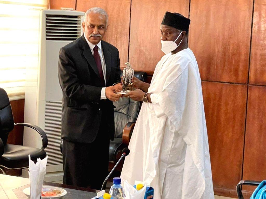 Indian Defence delegation in Nigeria.