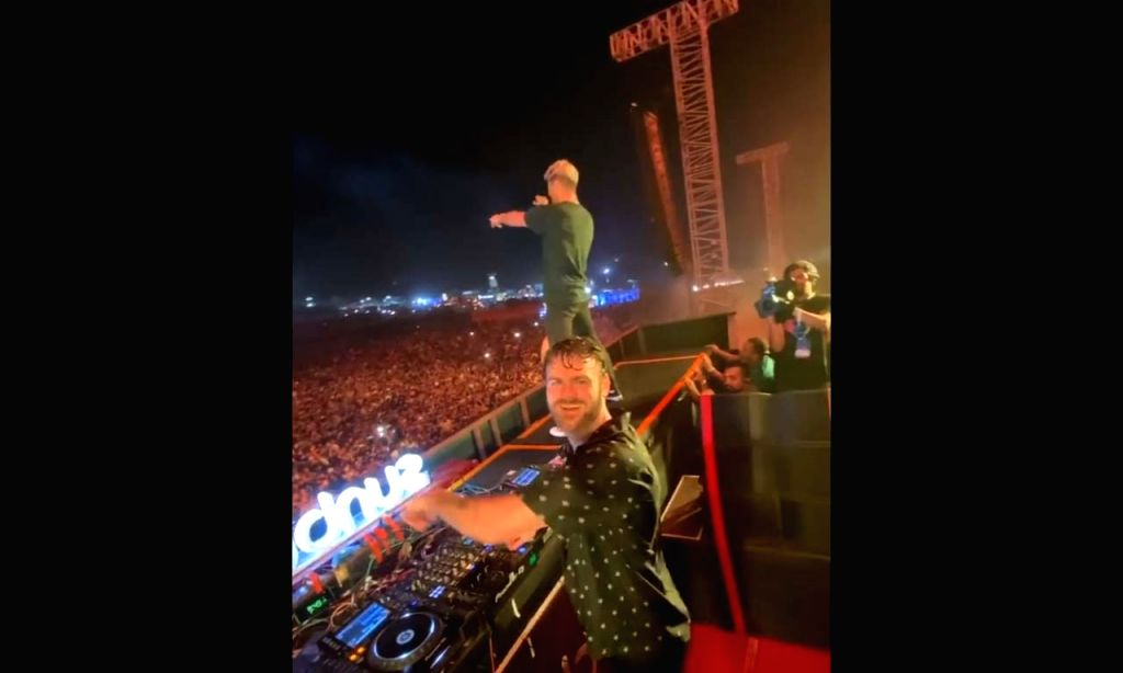 """Indian EDM lovers received a surprise from American DJ duo Andrew Taggart and Alex Pall, who are popularly known as The Chainsmokers. On Saturday night, they played their latest song """"Family"""" live for the first time and that too in Goa, one of India'"""