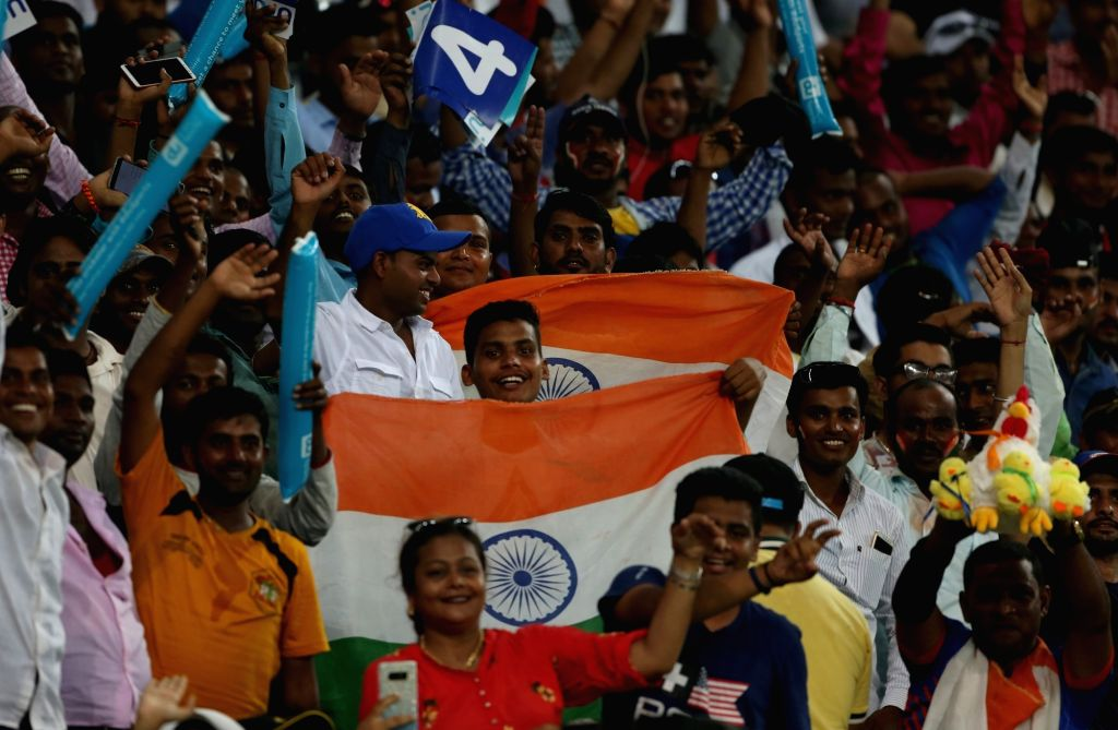 Indian fans. (File Photo: Surjeet Yadav/IANS) - Surjeet Yadav