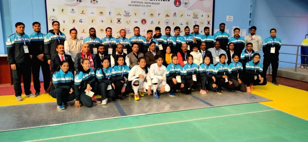 Indian Fencing Team won 11 Medals in South Asian Games.