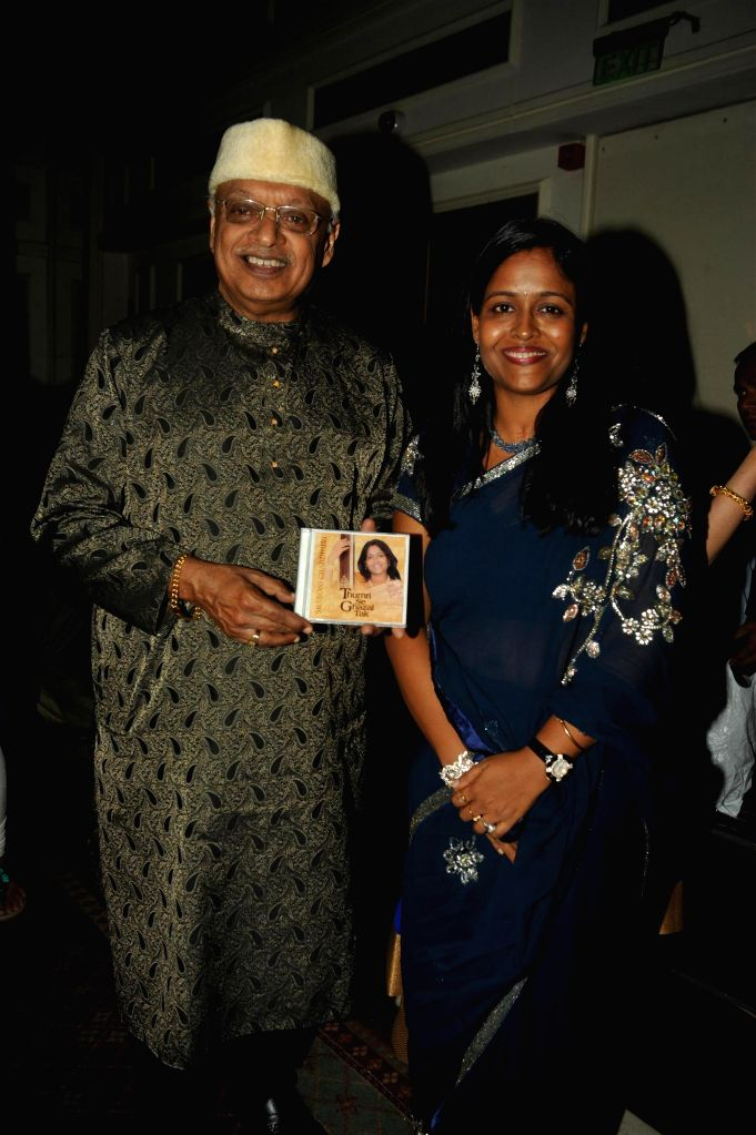 Indian filmmaker Kiran Shantaram during the Khazana, A Festival of Ghazals organized in aid of Cancer Patients Aid Association and Parents Association Thalassemic Unit Trust in Mumbai, on August 1, ..