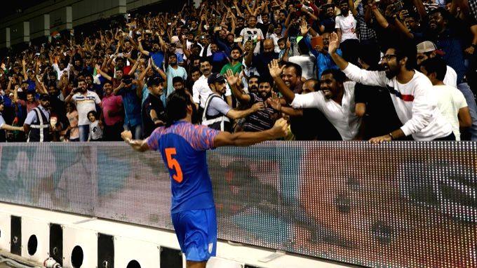 Indian footballer Sandesh Jhingan.
