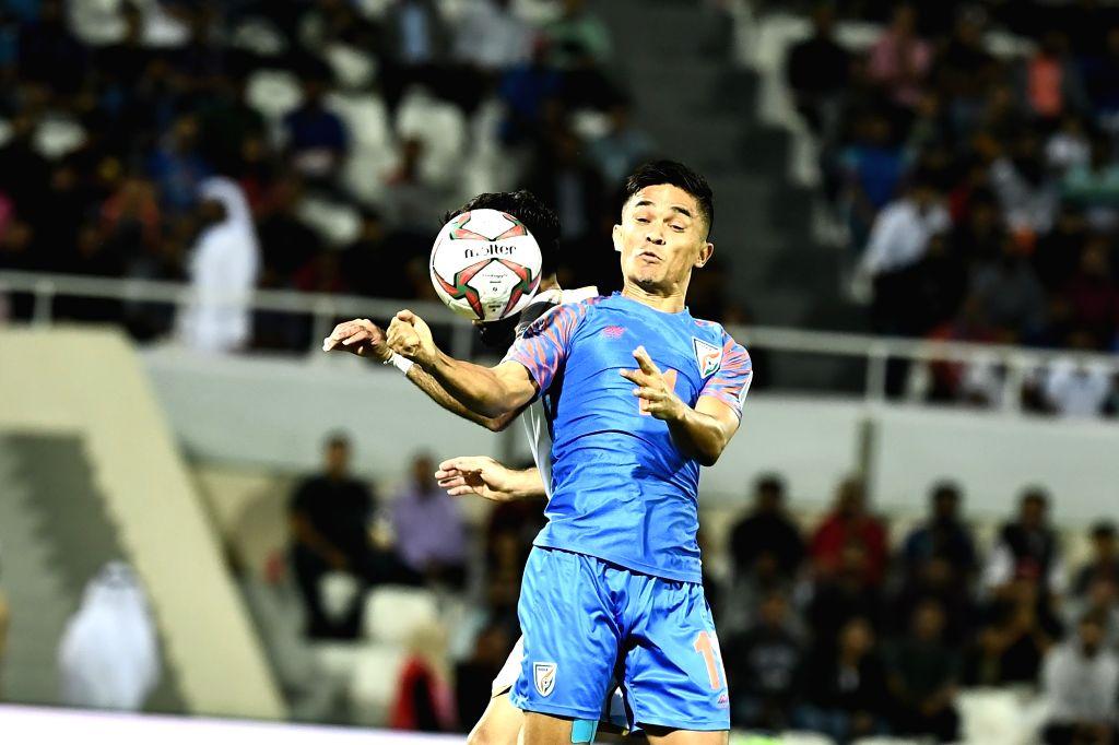Indian footballer Sunil Chhetri. (Photo: IANS)