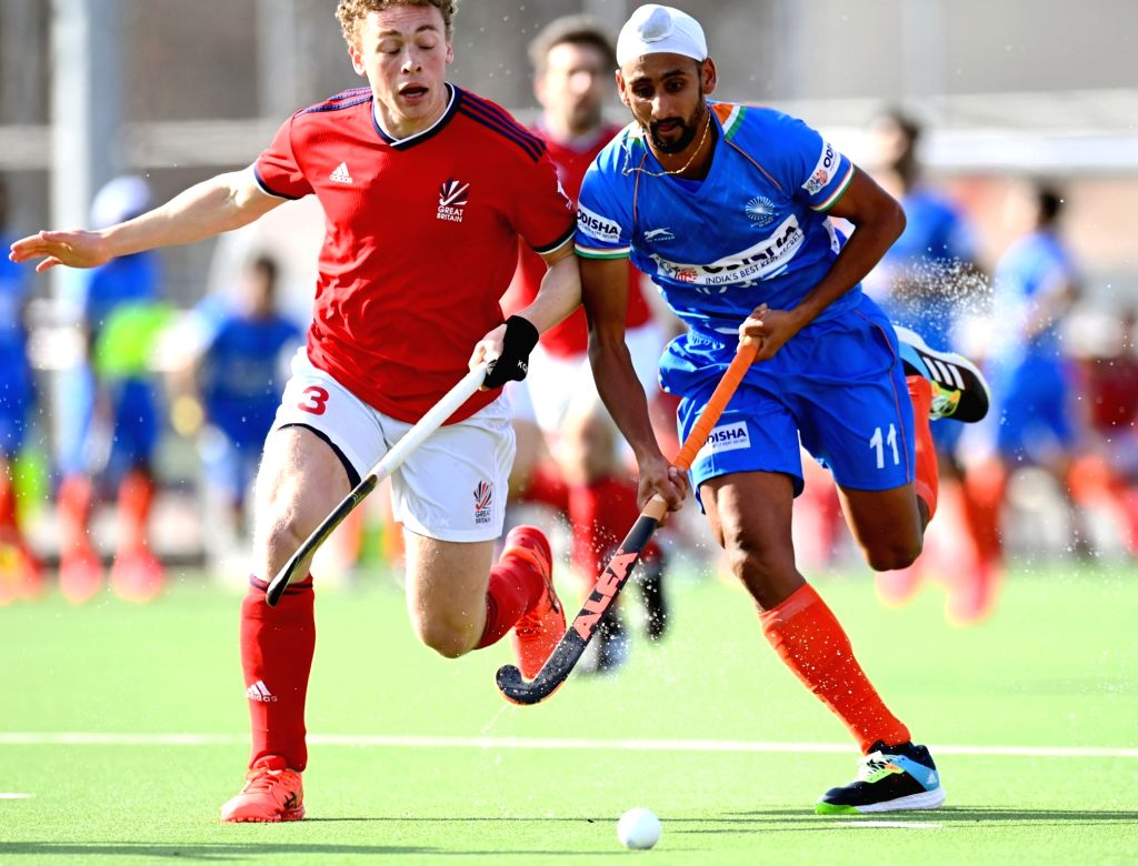 Indian Men???s Hockey Team remain undefeated; beat Great Britain 3-2 in last match of the Europe Tour
