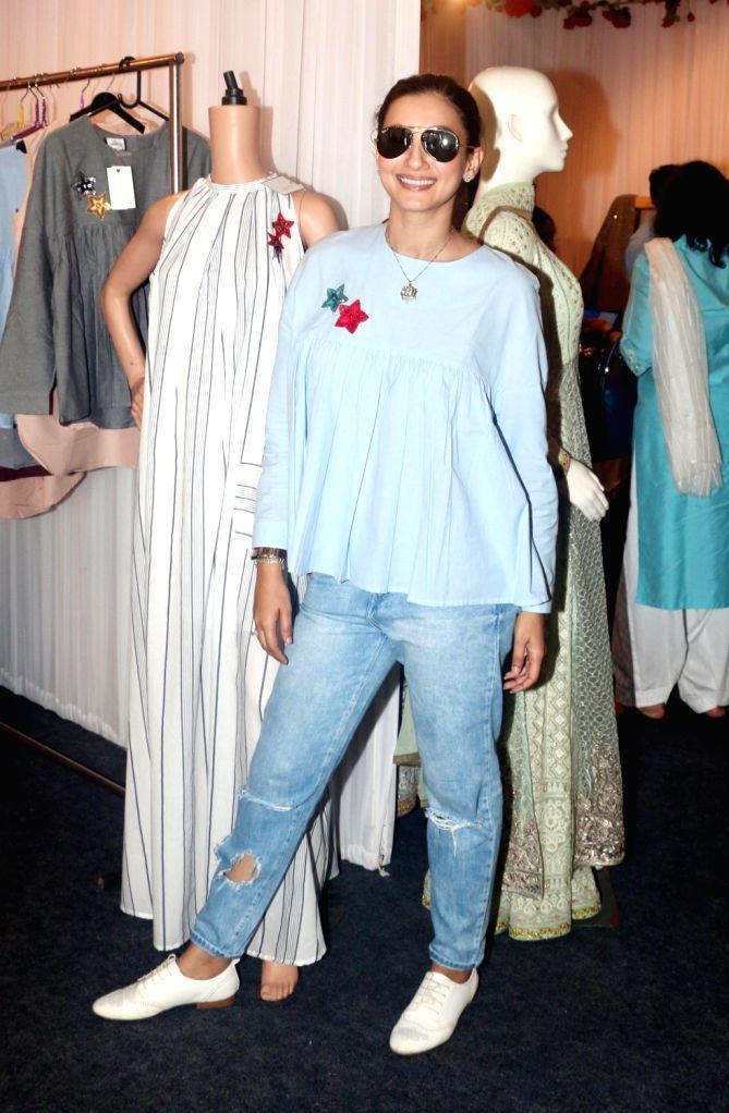 Indian model Gauhar Khan at Pernia Pop Up Fashion Show 2018, in Mumbai on March 30, 2018. - Gauhar Khan