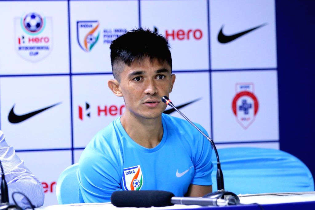Indian national football team captain Sunil Chhetri. (File Photo: IANS) - Sunil Chhetri