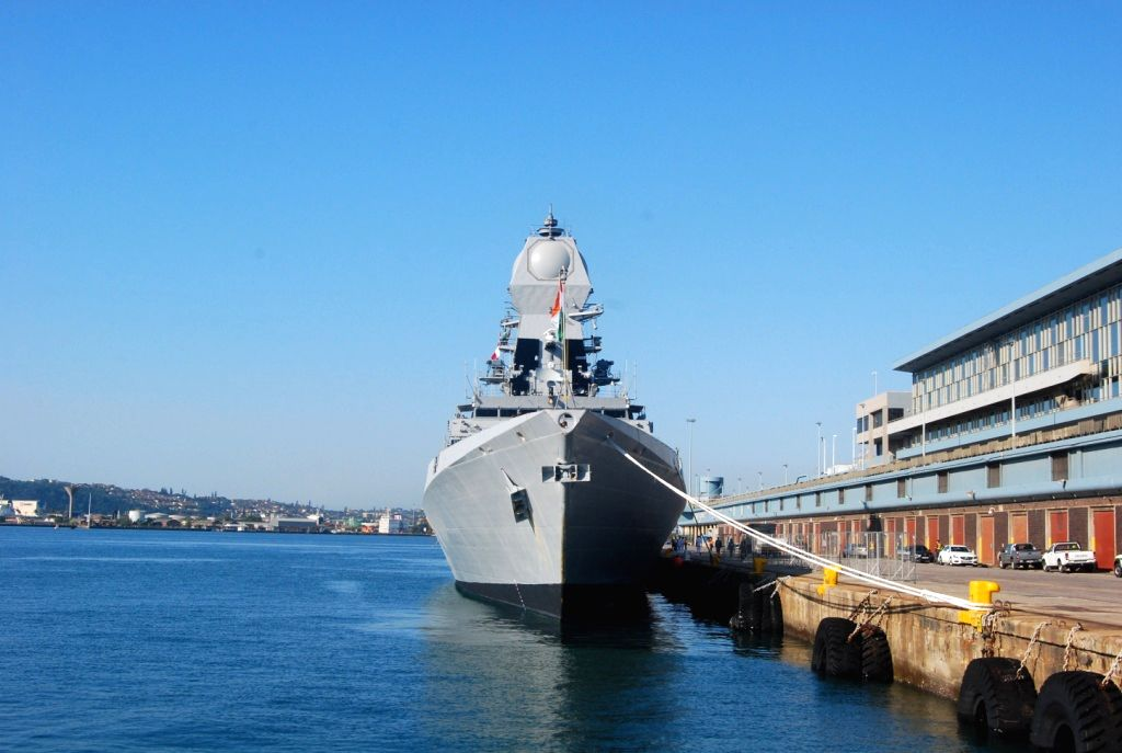 Indian Naval ships visit South Africa
