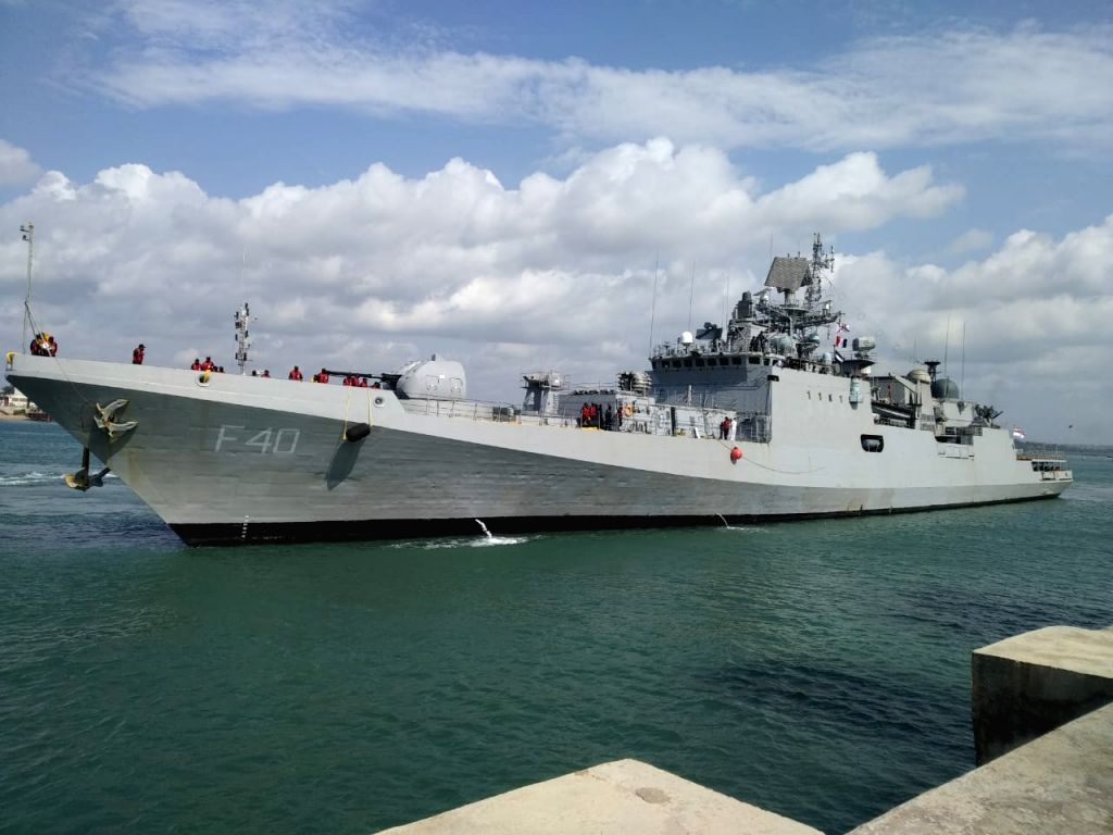 Indian Navy participates in maritime drill along East Coast of Africa