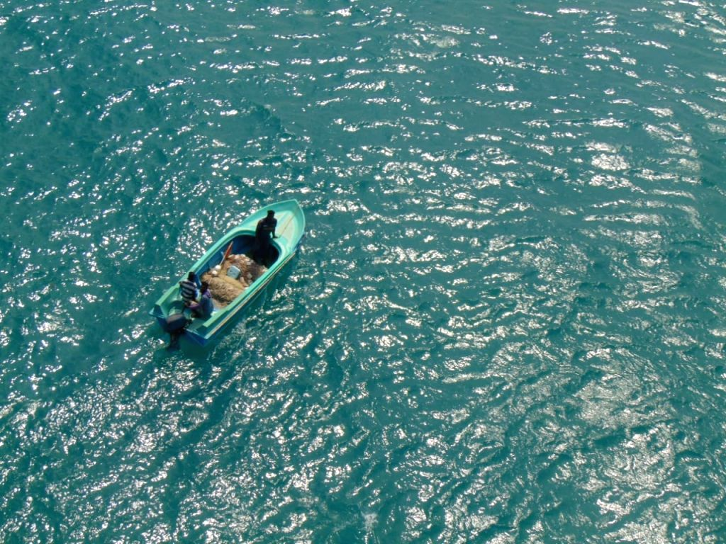"""Indian Navy unearthed sea smuggling route of gold on Monday with interception of a Sri Lankan boat and apprehension of the crew members. Indian Navy said, """"During an aerial  surveillance sortie by a helicopter from Naval Air Station in Ramnad interce"""