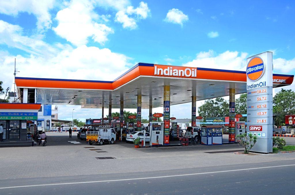 Indian oil petrol pump. (credit : Twitter)