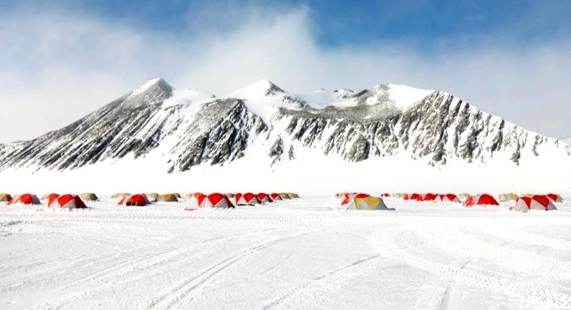 Indian on Antarctica sabbatical
