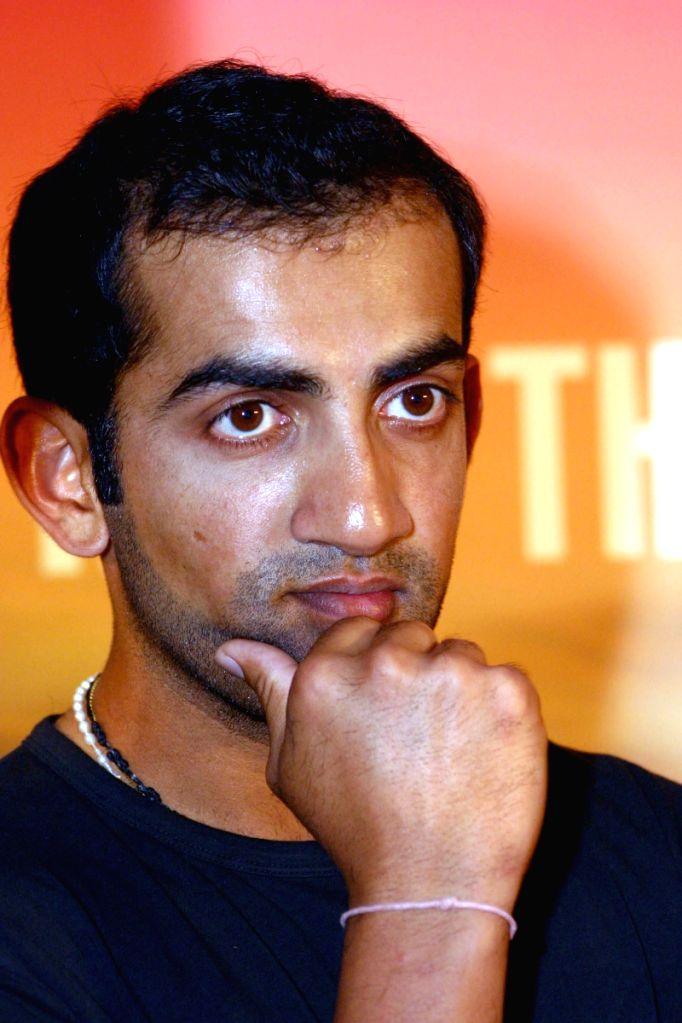 "Indian Opener Gautam Gambhir at the launch of ""Bolero Stinger"" in New Delhi on Monday 13 April 2009."