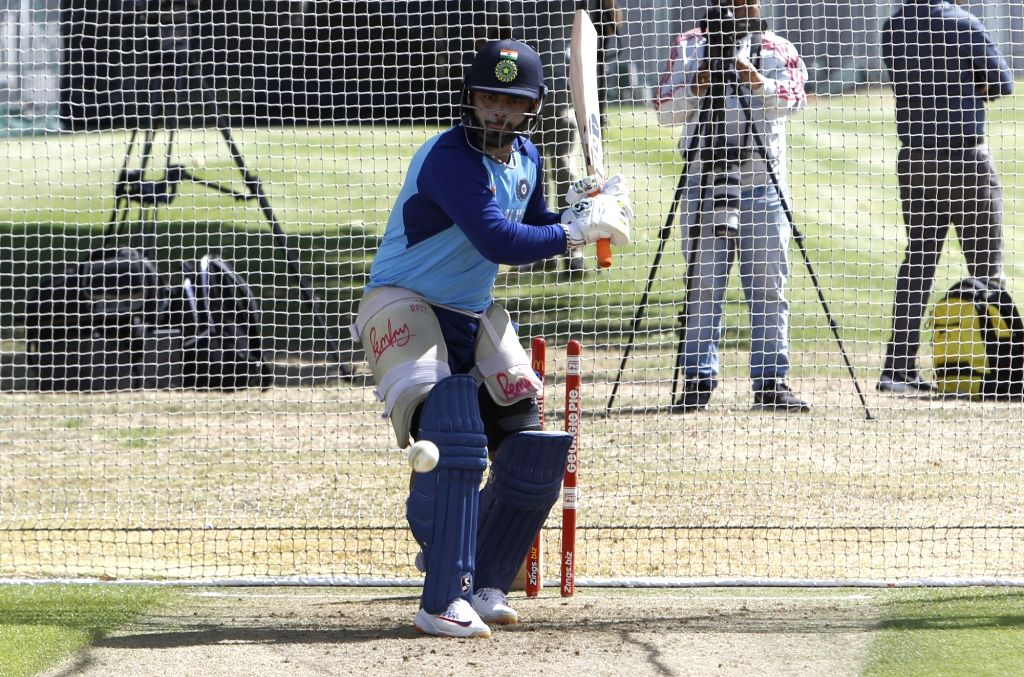 Indian player Ravindra Jadeja during a practice session ahead of the 2nd ODI against New Zealand at Auckland in New Zealand on Feb 7, 2020. - Ravindra Jadeja