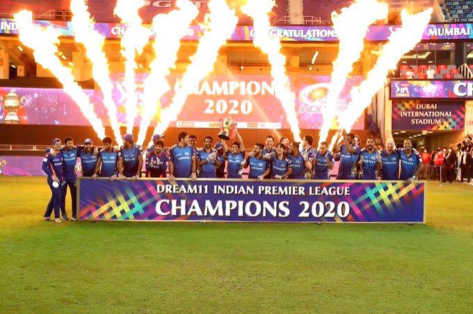 Indian Premier League 2020A Perfect 10.