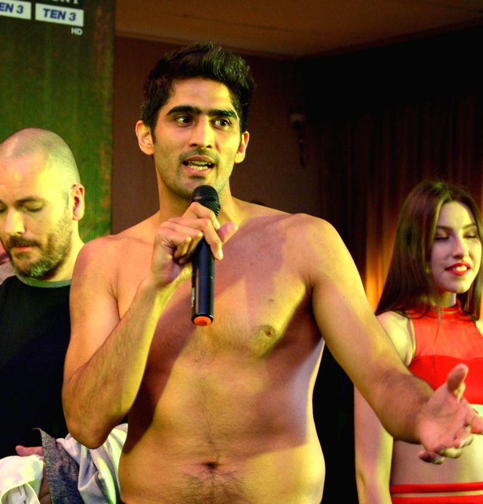 Indian professional boxer Vijender Singh. (File Photo: IANS) - Vijender Singh