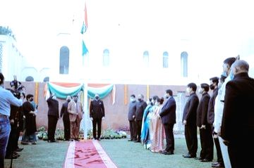 Indian R-Day celebrations in UAE go virtual for 1st time.(photo: twitter.com/cgidubai)