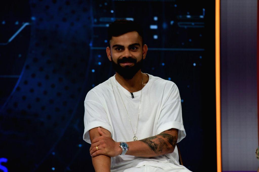 Indian skipper Virat Kohli during a programme in Mumbai on Oct 26, 2019. - Virat Kohli