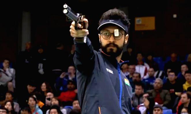 Indian sport shooter Abhishek Verma. - Abhishek Verma