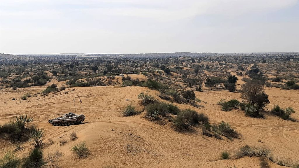 Indian tanks, helicopters deployed in Ladakh now part of counter terror drills with US Army