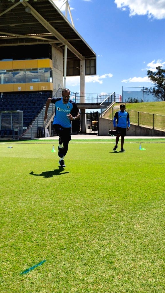 Indian team begins training with gym and running in Australia.