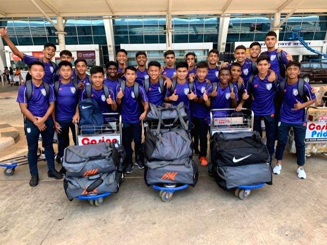 Indian U-15 boys National Team. (File Photo: IANS)