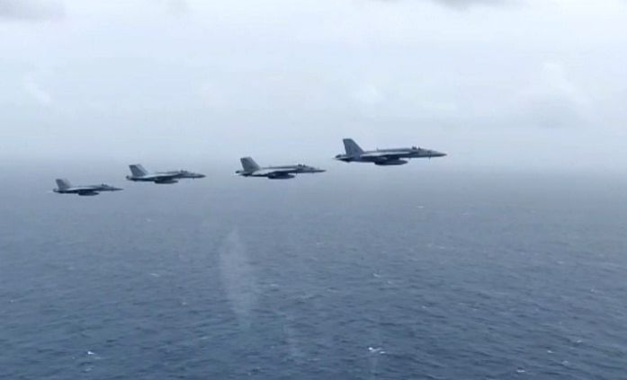 Indian, US forces joint drill witnesses high-tempo naval ops