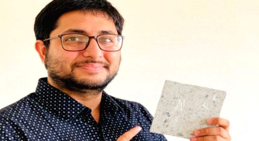 Indian waste warrior recycles PPE & mask waste into brick units
