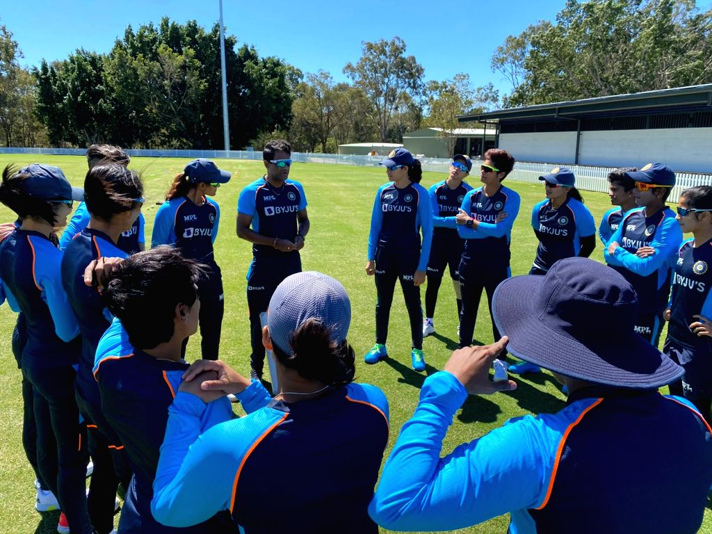 Indian women cricketers begin training in Australia.(photo:BCCI twitter)