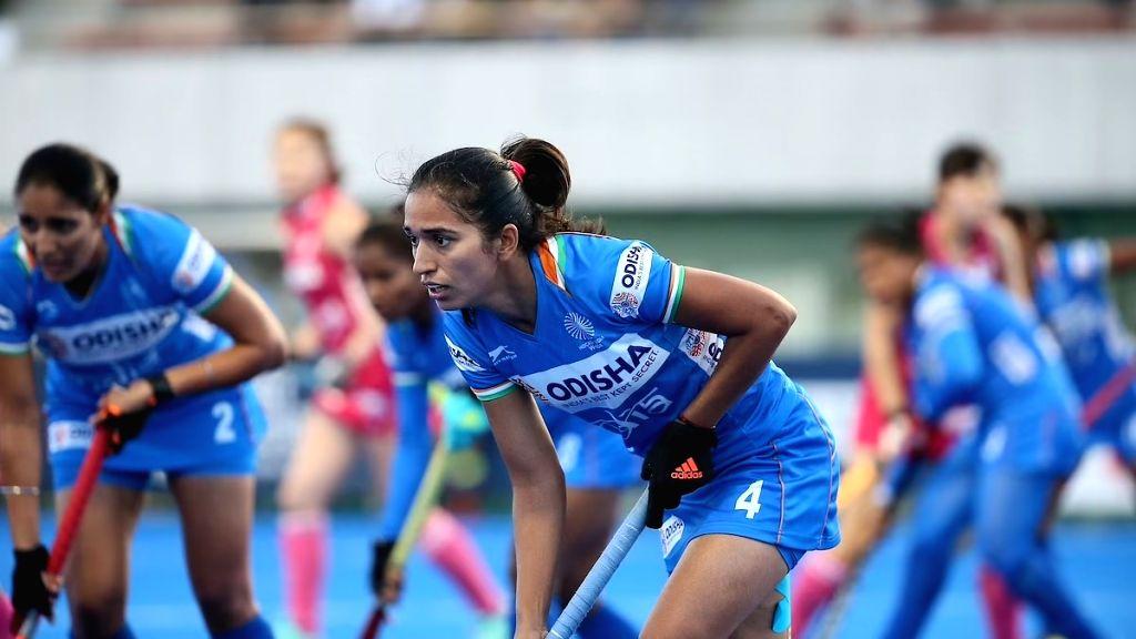 Indian Women's Hockey midfielder Monika.(pic:Hockey India)