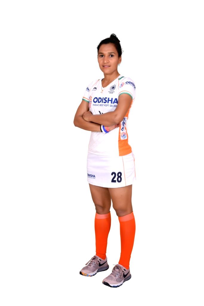 Indian Women's hockey team captain Rani in the new White uniform. Hockey Fans can watch the Manpreet Singh-led Indian Men's team donning the new uniform at the forthcoming FIH Men's Series Finals Bhubaneswar Odisha 2019 starting 6 June 2019 while the - Rani and Manpreet Singh