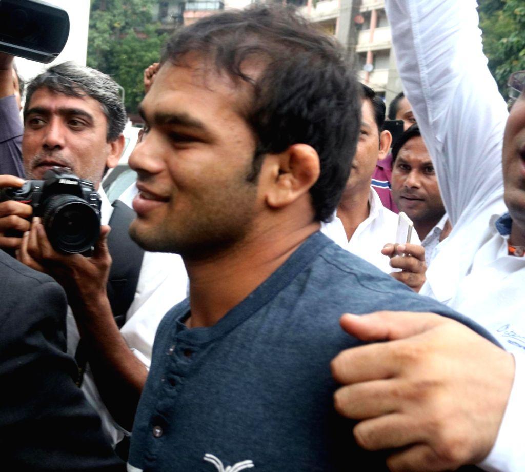 Indian wrestler Narsingh Pancham Yadav. (File Photo: IANS) - Narsingh Pancham Yadav