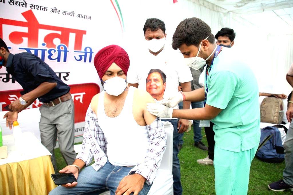 "Indian Youth Congress celebrated Rahul Gandhi's birthday as "" Seva Day "". - Rahul Gandhi"