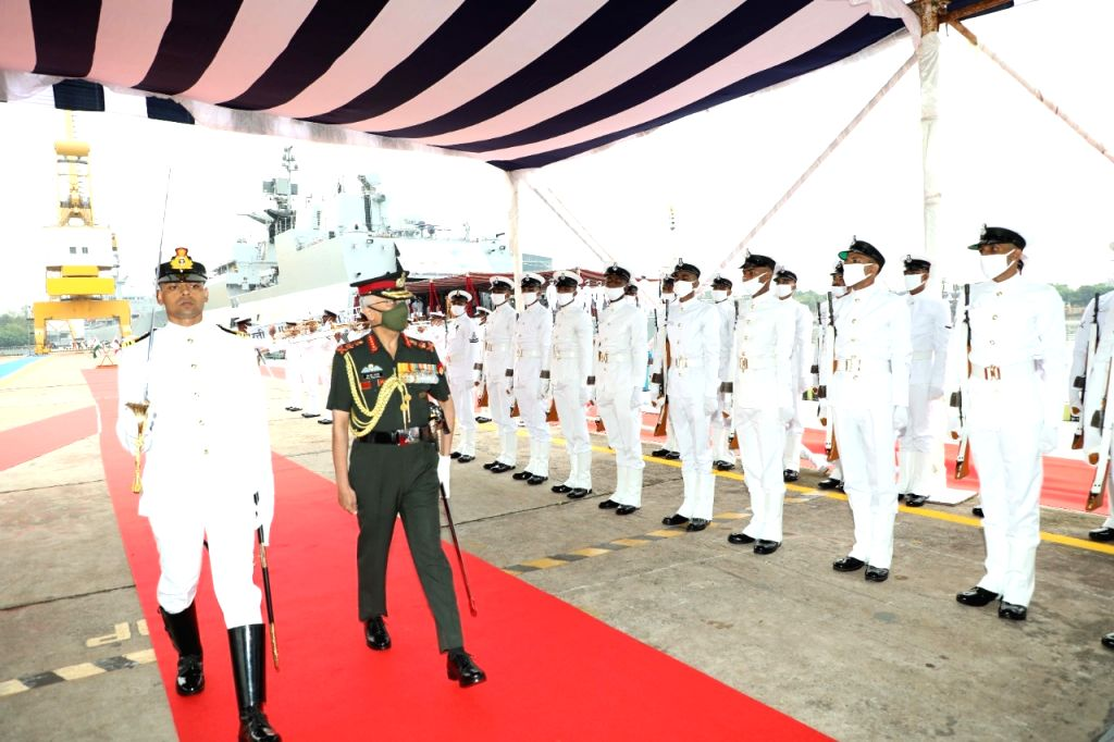 Indigenously-built INS Kavaratti commissioned in Indian Navy