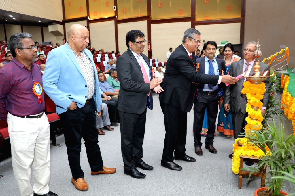 Indira Gandhi Centre for Atomic Research (IGCAR), Kalpakkam Director Arun Kumar Bhaduri, Department of Atomic Energe (Industries and Minerals) Joint Secretary Mervin Alexander and Nuclear ... - Indira Gandhi Centre and Arun Kumar Bhaduri