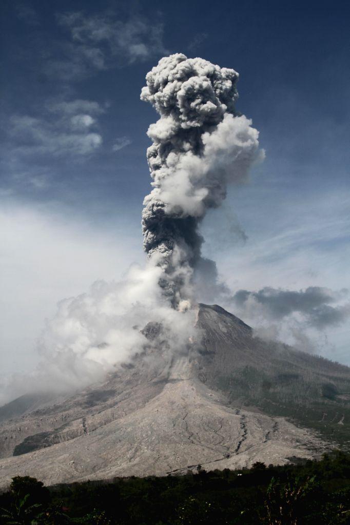 Indonesia's Mount Sinabung volcano erupts