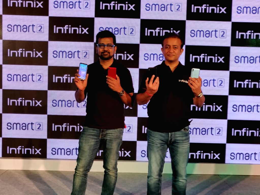 Infinix CEO Anish kapoor at the launch of Infinix Smart 2 smartphone, in New Delhi on Aug 2, 2018.