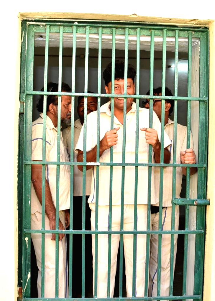 ing jeweler Boby Chemmanur in Telangana jail with friends.