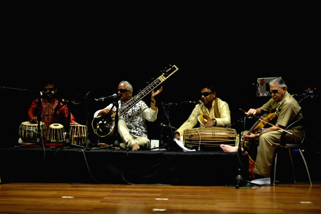 Inner Vision Orchestra with Baluji Shrivastav at Sitar