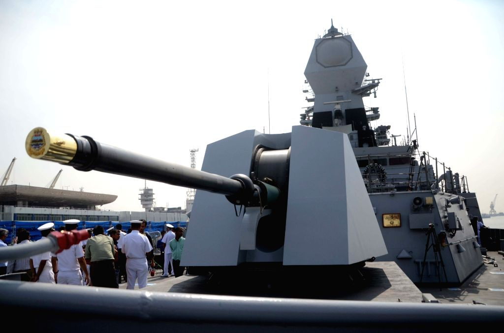 INS Chennai. (File Photo: IANS)