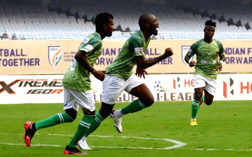 Inspired by Asamoah Gyan, Gokulam's Antwi hopes to shine in I-League.(photo:Twitter)