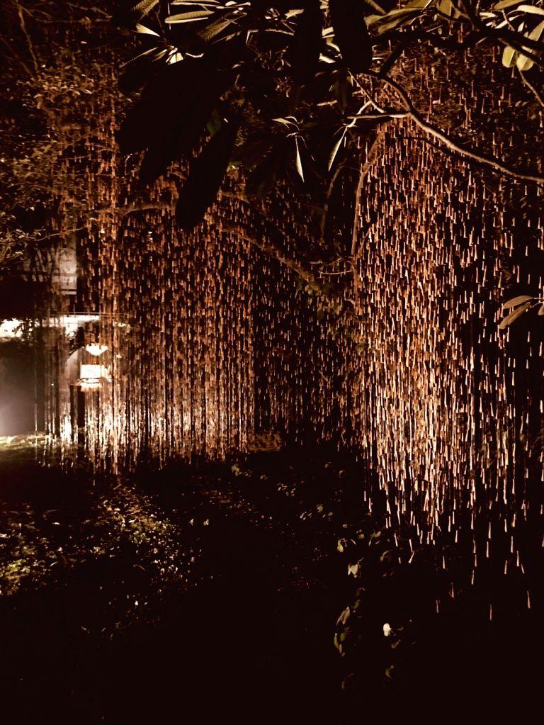 """Installation """"Rain"""" by artist Manav Gupta - Manav Gupta"""
