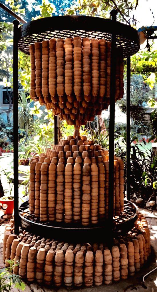 "Installation ""Time Machine"" by artist Manav Gupta - Manav Gupta"