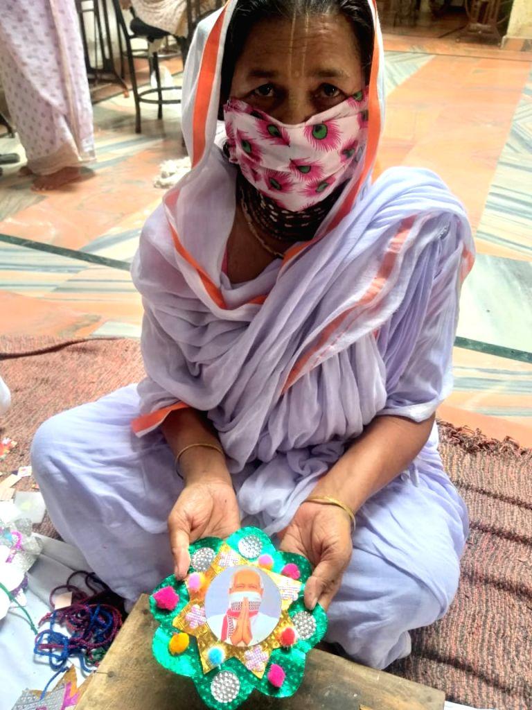 Instead of 'Rakhis', Vrindavan widows to send special masks to 'Modi bhaiyya