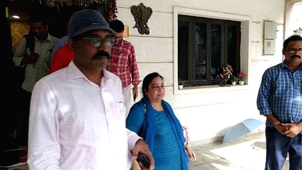 Insurance Medical Services Director Devika Rani being arrested by the Anti Corruption Bureau (ACB) in connection with alleged financial irregularities in the supply of medicines and other ...